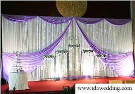 backdrops for wedding props wedding stage backdrop curtain diy your wedding size