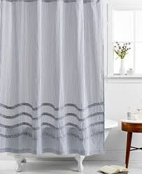 Ruffled Shower Curtain Closeout Martha Stewart Collection Ruffle Shower Curtain Shower