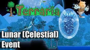 Terraria Map Viewer Terraria 1 3 Lunar Event 4 Pillars U0026 The Moon Lord Cthulhu