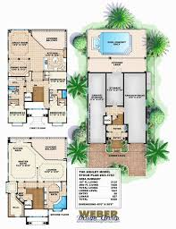 narrow waterfront house plans house plans narrow lot glorious narrow lot beach house plans