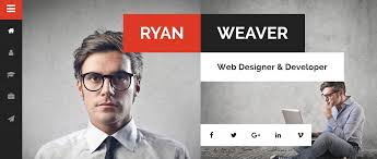 Best Personal Resume Websites by 40 Best Vcard Wordpress Themes