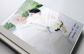 custom wedding album custom wedding photo album 11x14 vertical acrylic cover wedding
