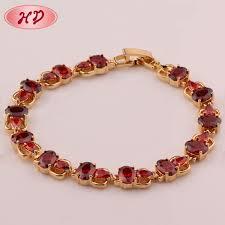chain bracelet designs images 18k rose gold ruby chain bracelet designs for woman ruby zircon jpg