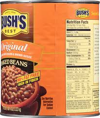 canned baked beans nutrition facts nutrition and dietetics