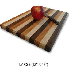 amish handcrafted small medium large solid multi wood cutting board