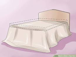 How To Make A Ruffled Valance How To Make A Bed Skirt 12 Steps With Pictures Wikihow