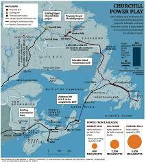 Churchill Canada Map by Electric Power Companies In Nova Scotia