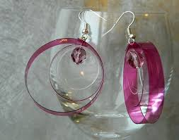 plastic bottle earrings 247 best jewelry recycled materials images on
