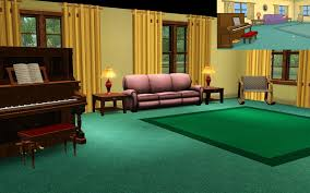Redditor Recreates Family Guy House Using The Sims  The Daily Dot - Family guy room