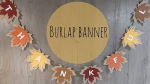 burlap thanksgiving banner burlap garland thankful thanksgiving