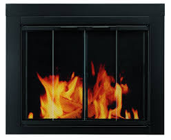 amazon com pleasant hearth at 1000 ascot fireplace glass door