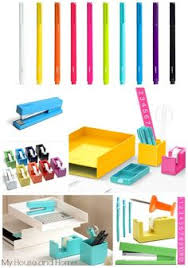 Colorful Desk Accessories Assorted Colored Jumbo Memo Pads Set Of 3 Cool Office Supplies