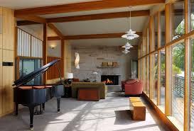 mid century modern dining room hutch white laminate flooring