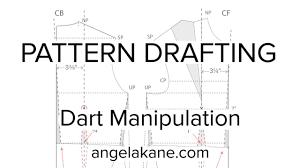 shirt pattern cutting pdf sewing patterns flat pattern drafting dart manipulation youtube