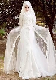 wedding dress syari 12 gaun pernikahan yang bisa membuatmu til anggun dengan jilbab