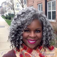 how to wear short natural gray hair for black women freetress deep twist in grey fiftyshadesofgrey silverfox