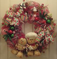 sugar and spice gingerbread wreath 100 00 via etsy need this
