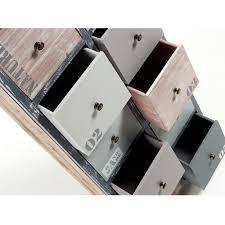 cassetti metallo cassettiera moderna 10 cassetti in legno di abete e metallo iota