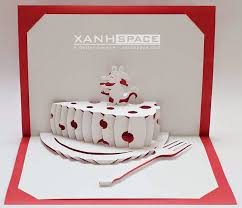 pop up cards kirigami patterns paper kit download xanhspace com