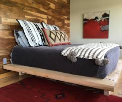 massive timbered platform bed 4 steps with pictures