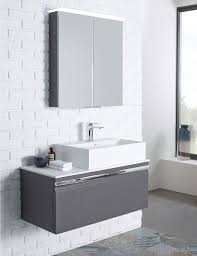 led lighted mirrors bathrooms large square mirror with white woden