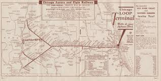 Chicago Loop Map by Greatthirdrail Org Maps