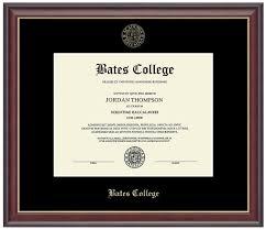 diploma frame embossed studio gold diploma frame bates college store