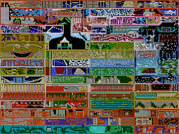 Phantasy Star 2 World Map by 8 Bit City Legacy Of The Wizard World Map