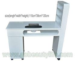 Nail Tech Desk by Pedicure Chair Manicure Table Barber Chair Shampoo Bed