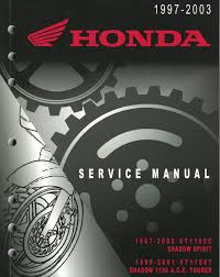 honda vt 1100c 97 05 service manual download links honda shadow