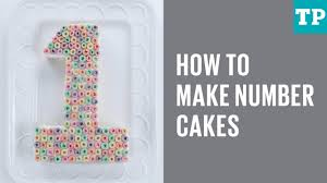 how to make number cakes youtube