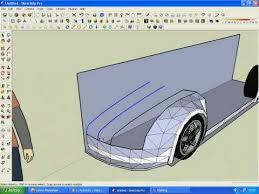 tutorial sketchup modeling modeling a supercar in sketchup part1 6 tutorial carsorax