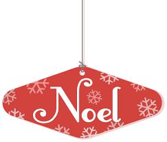 noel hanging ornament ornaments