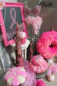 Halloween Breast Cancer Shirts by Pink Pumpkin Fall Decor For Breast Cancer Awareness Month Breast