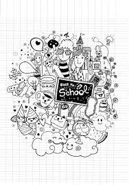 doodle back to by 9george doodling doodle art