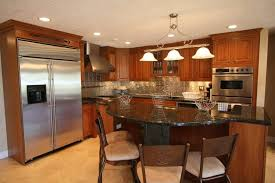 remodeled kitchens ideas kitchen mesmerizing kitchen remodeling ideas with large refrigerant