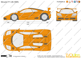 mclaren drawing the blueprints com vector drawing mclaren f1 lm