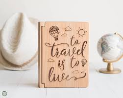 travel photo album 4x6 travel photo album to travel is to live travel quote gifts