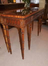 chippendale console table hand carved mahogany hall tables ebay