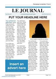 news report template news report template unique newspaper templates homework