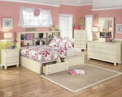 cottage retreat cream cottage 6 piece full bookcase bedroom set
