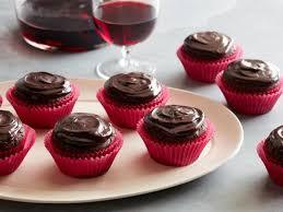 wine chocolate wine chocolate cupcakes recipe food network kitchen food