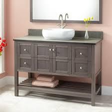 bathroom sink magnificent vanity cabinet gray pear vessel