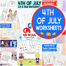 4th of july worksheets itsy bitsy fun
