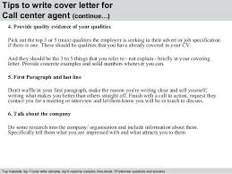 Call Center Sample Resume Sample Resume Format For Call Center Agent Without Experience 4