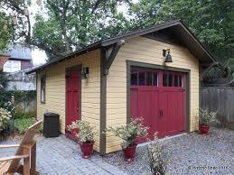 bungalow garage plans custom one car detached bungalow garages in florida historic