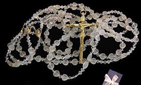 wedding lasso rosary wedding lazo rosary beautiful glass with gold