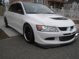 silver mitsubishi lancer black rims speed 82 2005 mitsubishi lancer specs photos modification info