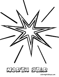coloring picture of a star