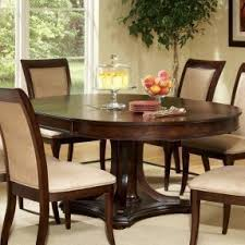 Dining Room Table Extensions by Round Dining Table With Leaf Extension Foter